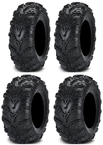 Full set of ITP mart Mud Lite Limited time trial price II Tire 6ply ATV and 27x9-14 27x11-14