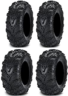Full set of ITP Mud Lite II (6ply) 28x9-14 and 28x11-14 ATV Tires (4)