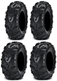 Full set of ITP Mud Lite II (6ply) 27x9-12 and 27x11-12 ATV Tires (4)