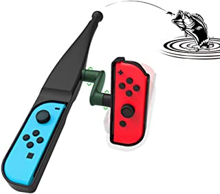 Nintendo Switch用 釣り竿 Nintendo Switch Joy-con対応 体感釣り竿 体感コントロールソフト 釣りスピリッツ用 つり竿 釣りスタ 釣りロッド ジョイスティック