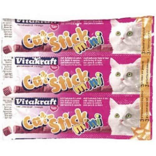 VITAKRAFT Mini stick a la dinde et a l'agneau - Pour chat - 3x18g (x20) 🔥