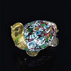 tortuga cristal murano