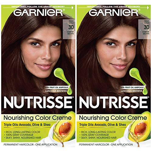 Garnier Hair Color Nutrisse Nourishing Creme, 30...