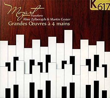 Mozart: Grandes œuvres à 4 mains