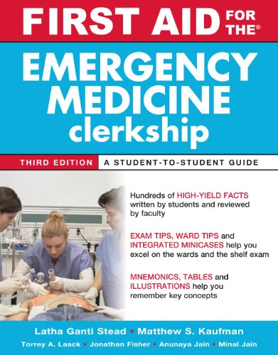 First Aid for the Emergency Medicine Clerkship, Third Edition (First Aid Series)