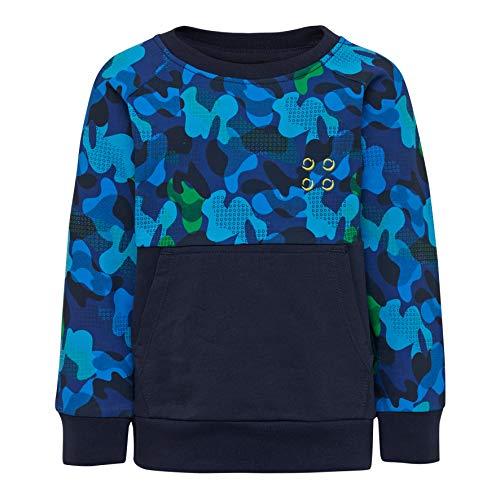 Lego Wear Lego Duplo LWSIRIUS a Sweat-Shirt, Bleu (Dark Navy 590), 3 Ans Bébé garçon