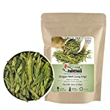 FullChea - Longjing Tea - Dragonwell Tea - Chinese Green Tea Loose Leaf - First Grade - Natural Lung Ching Dragon Well - 8oz / 226g