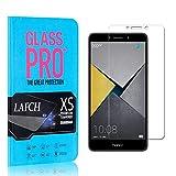 4 Stück Schutzfolie für Huawei Honor 6X, LAFCH HD Displayschutzfolie Honor 6X, Anti-Fingerabdrücke Gehärtetem Glas Panzerglasfoli