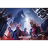 ABYstyle - Watch Dogs - Poster - Keyart Legion (91,5x61 cm)