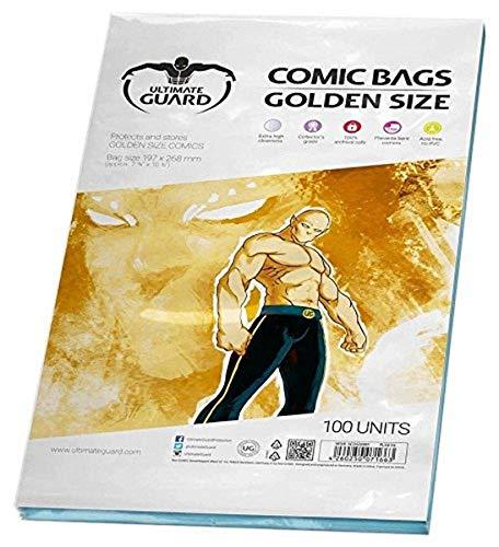 Ultimate Guard UGD020007 - Comic Bags, Golden Size, 100 Stück