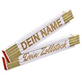 Zollstock mit Name - Meterstab mit Gravur/individuelles und persönliches Geschenk mit Wunschtext...