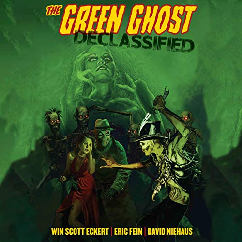 The Green Ghost Declassified audiobook cover art