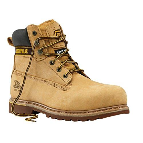 Gato miel Holton - Zapatos de seguridad (talla 8) ⭐
