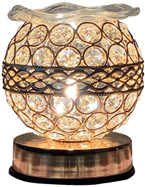 状況発症対応Zenghh アンティークスタイルクリスタルテーブルランプ、ゴールド調光LEDベッドサイドランプ、贈り物としてデザインナイトライトを使用することができ、児童室デスクランプベッドサイドドレッサー周囲デスクライト[省エネグレードA] (Color : 1パック)