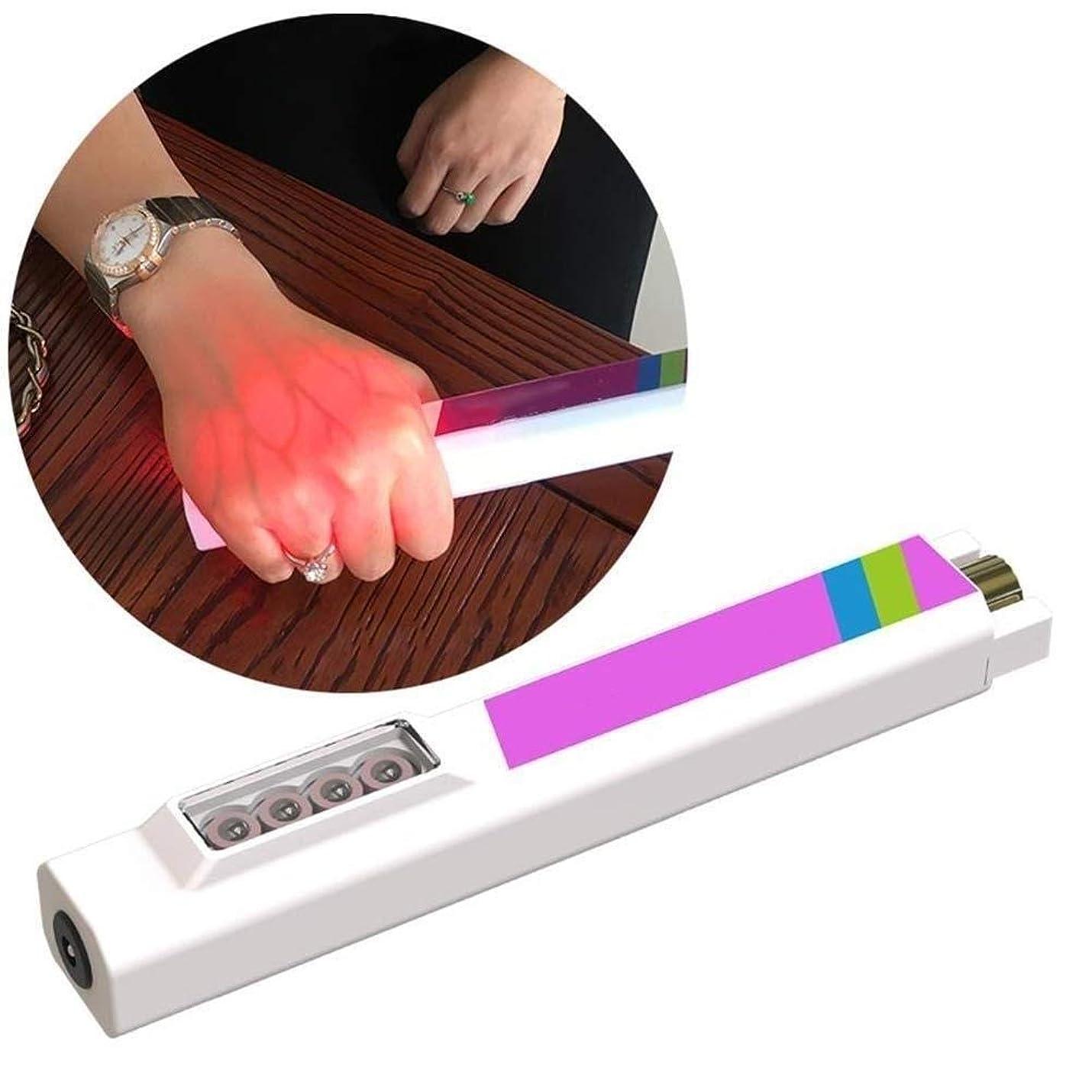 パースブラックボロウ開始叫ぶ静脈イメージング懐中電灯血管ディスプレイ懐中電灯手穿刺による血管ライトの確認皮下静脈デバイスの発見が容易