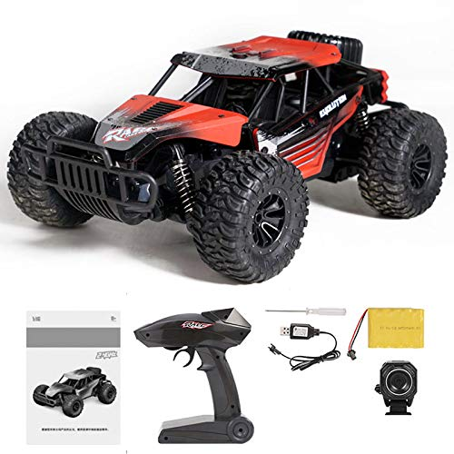 AWJK 2.4ghz Off Road Vehicle Toy 720p WiFi Hd Camera Radio Remote Control Car 25km/h High Speed Rc Car for Kids Best Gifts for Boys and Girls,d