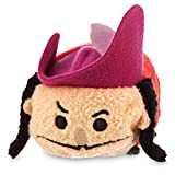 New Disney Store Mini 3.5 (S) Tsum Tsum CAPTAIN HOOK Plush Doll (Peter Pan Collection) by Disney
