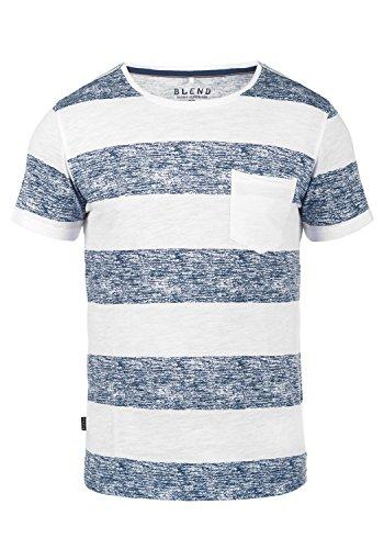 Blend Vegas 201704667ME T-Shirt, Größe:L, Farbe:Navy (70230)