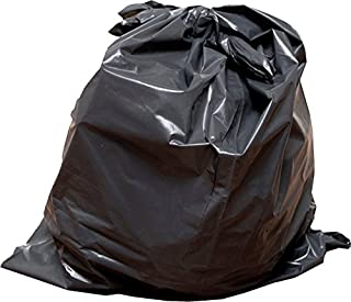 Ox Plastics 60 Gallon 2 Mil Extra Large Heavy Duty Contractor Bags, Made in USA, Trash Bag (Black, 50 Count)