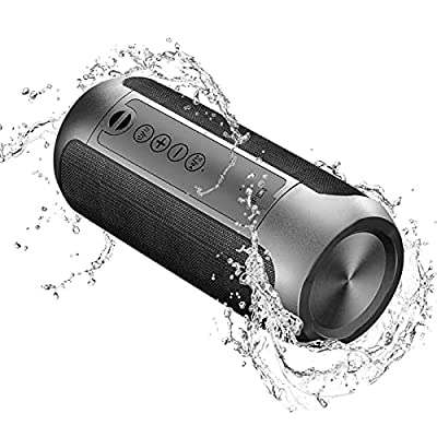 Portable Wireless Bluetooth Speakers,Outdoor Sports Speakers with Bluetooth 5.0,IPX5 Waterproof,3D Stereo,10 Hours Playback time,with HD Sound for Pool, Beach, Bike, Travel