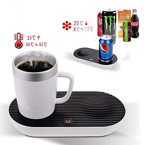 Mettime Intelligenter Thermosbecher, kühl- und beheizbarer Tischbecher, schneller intelligenter Überhitzungsschutz, wasserdicht und pflegeleicht
