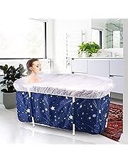 TTLIFE Opvouwbare badkuip, inklapbaar, draagbaar, rond bad voor douches