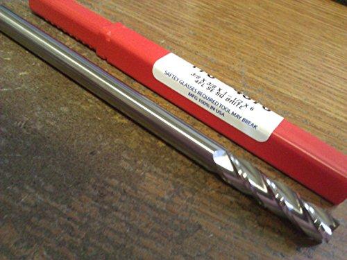 "3/8"" 4 Flute Extra Long Length Carbide END Mill 3/8"" x 3/8"" x 1-1/2"" x 6"""