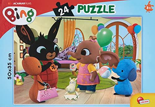 Liscianigiochi- Bing Facciamo Festa Gicoco per Bambini-Puzzle, 24 Pezzi, Multicolore,...