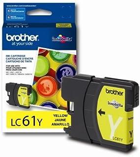 GTS: Brand New Genuine Original OEM Brother LC61 Yellow Ink Cartridge