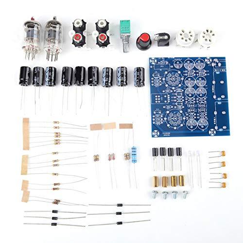 Preamplificador de tubo, duradero 5,5 * 2,5 enchufe, práctico preamplificador de tubo de vacío, alta frecuencia para piezas de amplificador de auriculares de teléfono móvil