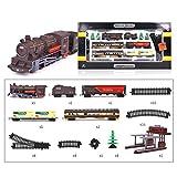 Haunen 1/87 modelo de tren tren tren tren tren tren H0, pequeño juguete para maquetas tren eléctrico, juguete con tonos y luces, pista H0