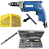 Shree Jee Traders Dee Power Powerful Electric Drill Machine 10Mm with + 6Hss