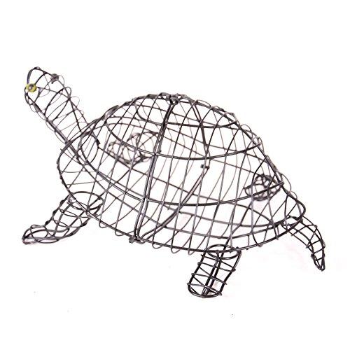tropical-world Gartenfigur Schildkröte 50 cm für Buxus Moos Efeu