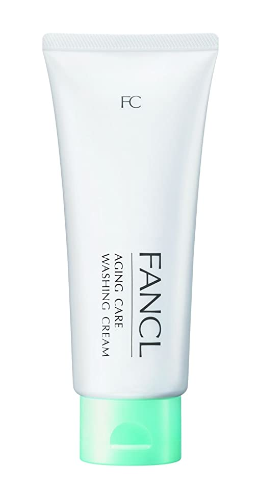 姿勢構築する排泄するファンケル (FANCL) 新 エイジングケア 洗顔クリーム 1本 90g (約30日分)