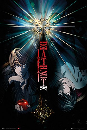 GB Eye-Poster - 91.5 x 61 cm Death Note-Duo, Maxi-Poster, bunt