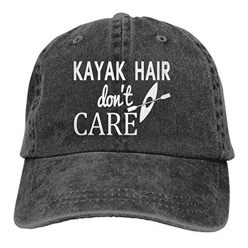 Waldeal Women's Kayak Hair Don't Care Hat Denim Washed Adjustable Baseball Cap