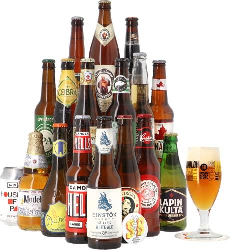 Coffret Autour du Monde - 17 bières - Idée cadeau