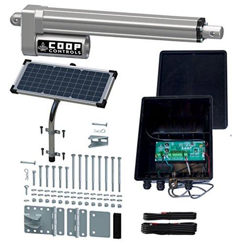 Coop Controls Automatic Coop Door Opener Kit...