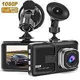 TSF6 Dash Cam, Dash Camera per auto con Full HD 1080p, super grandangolo a 170 gradi,...