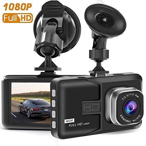 TS89 Busue Dash Cam, Full HD 1080p Dash Cam auto Blackbox DVR Dashboard Camera anteriore G-Sensor Motion Detection Loop Video Recorder Night Vision