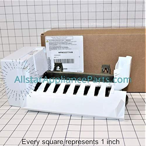 W10277448 FSP OEM Genuine Freezer, Refrigerator Ice Maker Assembly