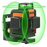Professionel Kreuzlinienlaser Selbstnivellierend TACKLIFE SC-L08 Laser 3x360 ° Arbeitsbereich: 40m