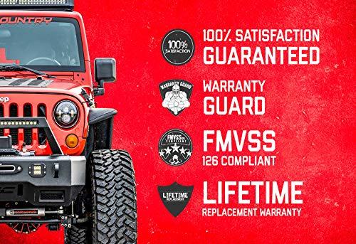 "Rough Country Drop Pitman Arm (fits) 87-06 Jeep Wrangler TJ YJ | 84-01 Cherokee XJ Comanche MJ | 2.5-6"" of Lift | 6605"