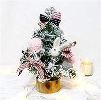 クリスマスツリー ミニ 卓上 ミニツリー クリスマスオーナメント 北欧風 クリスマス飾りインテリア用品 クリスマス プレゼント ギフト 置物 3色選べる1