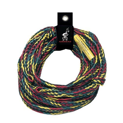 Airhead Deluxe 4,150 Lb Tube Tow Rope 60 Ft. 1-4 Rider  by AIRHEAD Watersports