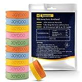 Joycoo Mückenschutz Armband 12er-Pack Insektenschutz-Armband 100% natürlich, Deef-Frei, für Reisen, ungiftiges, sicheres Armband für Kinder, Erwachsene und Haustiere während des Campings
