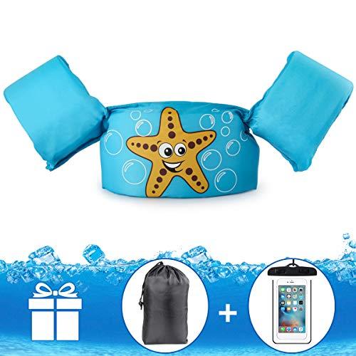 JEVDES Schwimmwesten für Kinder von 2-7 Schwimmflügel und verschiedene Designs für Kinder zum Schwimmenlernen Schwimmhilfe für Jungen und
