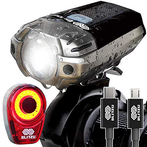 BLITZU Gator 390 USB Rechargeable LED Bike Light...