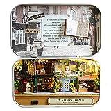 loonBonnie Muebles de casa de muñecas Juguete en Miniatura DIY Muebles de casa de muñecas en Miniatura Juguetes de luz LED Regalo de cumpleaños para niños (Multicolor)