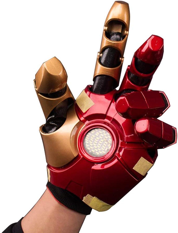 ventas calientes ZSIF Iron Man Palm Model Model Model , Marvel Heroes Avengers Around Juguetes Luces portátiles for Actividades  conveniente